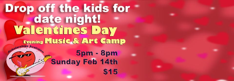 Valentine Music & Art Camp